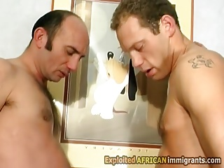 Beautiful African Honey Gets Assfucked
