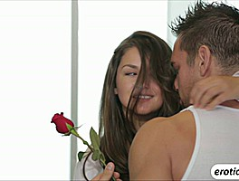 Sexy And Beautiful Allie Haze Gets Sweet Love Making And Receives Cum