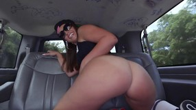 Sexy Ass Kelsi Monroe Gets Naked In A Van