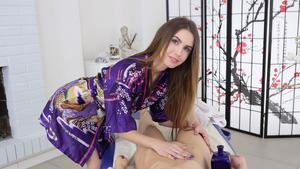 Massage Porn Video Starring Perfect Sluts Nedda And Elle Rose – Japanese Style Massage