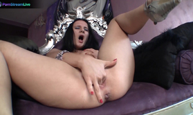 Exotic Beauty Aylin Brown Solo Fisting