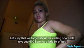 Good Sex For Cash With A Lustful Blonde Called Tricia. Public Agent Fucked This Perverted Blonde Just For 20o Euros. What A Cheap Pervert She Is!