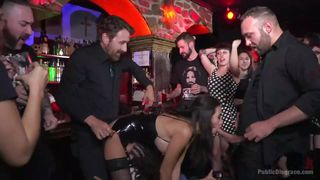 Naked Spanish Slave Exposed In The Rock Pub