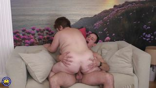 Kinky Mature Gets A Piece Of A Fresh Meat