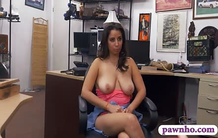 Curvy Babe Sells Wrist Watch And Fucked At The Pawnshop