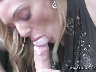 Blonde Fucking On Cctv In Fake Taxi