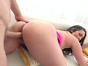 Big Boob Amateur Gets Fucked Hard From Behind