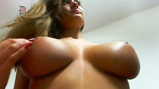 Attractive Girl With Massive Natural Juggs
