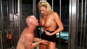 Blonde Doctor Experiments With A Big Cock
