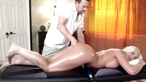 Masseuse Switches With A Masseur So He Can Fuck