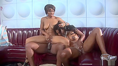 Incredible Pornstar Nyomi Banxxx In Amazing Black And Ebony, Threesome Sex Movie