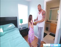Sexy Ass Brunette Bambi Brooks Is Egg Hunting And Fucks Dudes Cock