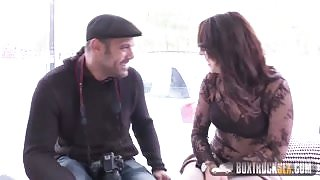 Box Truck Sex – Big Ass French Girl In The Box Nora Luxia