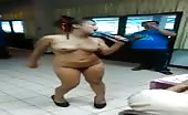 Naked Thai Girl Is Dancing And Singing At A Birthday Party