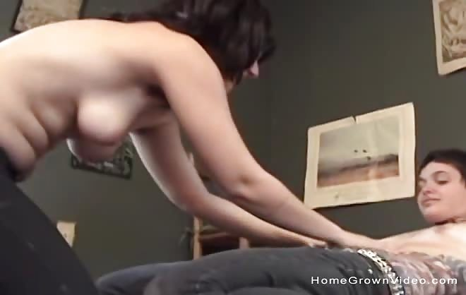 Two Hairy Amateur Dykes Homemade Porno
