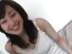 Beautiful Japanese Woman Play Hard