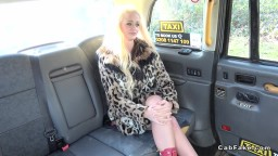 Finnish Blonde Fucks In British Fake Cab