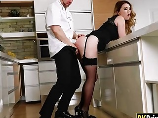 Sexy Babe Gets Anal Banged By Nasty Chef