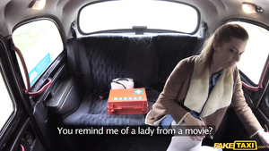 Amateur Tall Blonde Has Car Sex With First Seen Driver