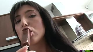 Hard Pussy Pounding For Busty Teen