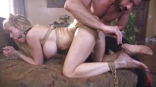 Busty Brandi Love Likes Rough Bdsm Games