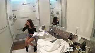 Riley Reid Seduced And Fucked By Step Brother