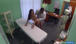 Young And Sexy Babe Rachel Evans Fucked In Fake Hospital