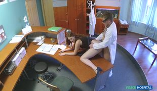 Slutty Babe Helen Seduced And Fucked By Fake Doctor