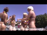 Girls Like To Dance And Rub Their Pussies In The Naked Boat Party Bash