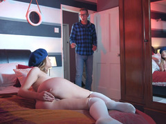 Alice Fabre Was Caught Masturbating By Danny D