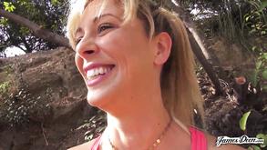 Cherie Deville Public Hiking Porn