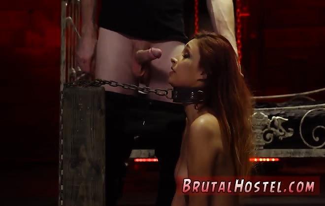 Brutal Bondage Ass Fuck First Time Poor Little Jade