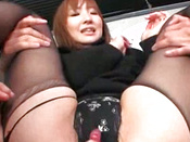 Raunchy Threesome Sex For Demure Amateur Asian Chicks
