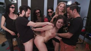 Hot Chick Punished And Fucked By Strangers After The Shoot