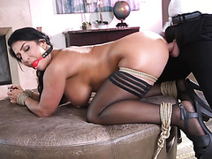 Raven Hart Is Punish Fucked In Her Big Enslaved Booty