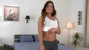 Watch This Pretty Girl Masturbating And Undressing