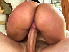 Big Ass Latina Destiny Shaking That Ass On His Shaft