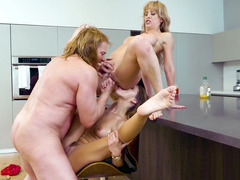 Adriana Chechik And Cherie DeVille In Hot Threesome Action