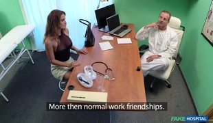 Hot Girl With Big Tits Nicole Fucks With Doctor