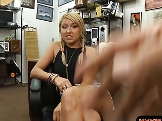 Lovely Blonde Screwed By Nasty Pawn Dude