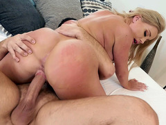 Savannah Bond Shakes Her Big Ass On The Hard Prick