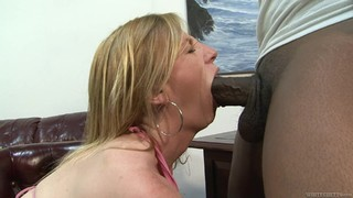 Blonde Has Some Dirty Fantasies To Be Fulfilled With Guys Sturdy Man Meat In Her Mouth