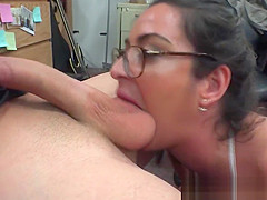 Pawning Amateur Sucking Dick In The Store