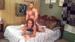 Hot Brunette Wife Smoking And Getting Pounded Doggie Style,huge Facial…