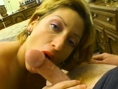 Violet Plays With A Hairy Dong