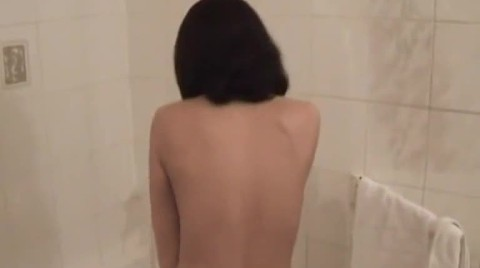 Petite Amateur Cutie Showers And Masturbates