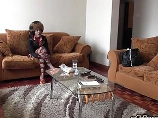 Amateur African Babe Riding Big Dong Interracial