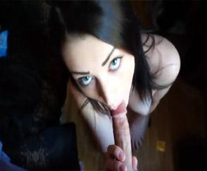 Beautiful And Sensual Girl Pov Blowjob & Facial