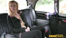 Great-looking Milf Saving Cash By Doing A Good Blowjob. Check Out How Tricky Fake Driver Banging With Another Slender Slut In The Backseat.