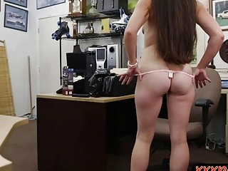 Ex Dominatrix Screwed By Nasty Pawn Man In The Backroom